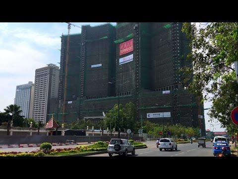 Phnom Penh Cambodia 2017 - Skyline City Cambodia 1 | How to Travel Cambodia and Visit Cambodia 2017