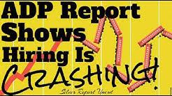 Economic Collapse News - ADP Jobs Report Shows Hiring Is Crashing