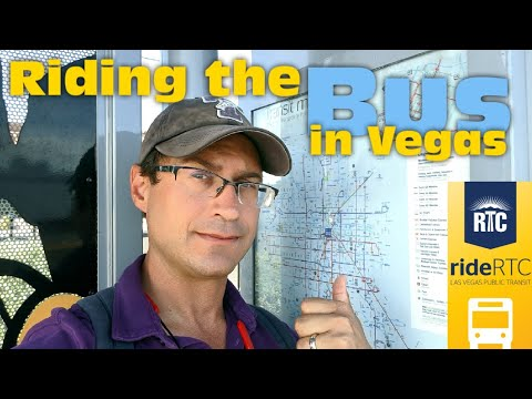 Living In Las Vegas - I Rode The Bus For You! Riding The City Bus. Do You Need A Car?