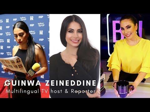 Guinwa Zeineddine Hosting Reel 2017   Entertainment And Beauty