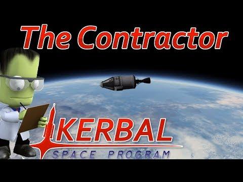 [2] Going Orbital | The Contractor - Kerbal Space Program