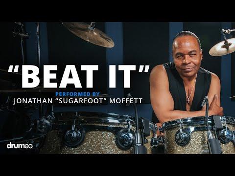 "Michael Jackson's Drummer Jonathan Moffett Performs ""Beat It"""