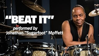 "Michael Jackson's Drummer Jonathan Moffett Performs ""Beat It"""