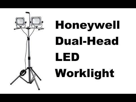 honeywell LED dual head work light 5000 lumens review