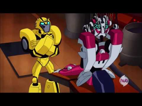 Transformers Animated Blebee Meets