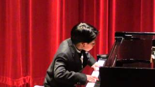 Chopin Nocturne Winter Piano Recital Ethan Yu