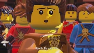 LEGO Ninjago: Shadow of Ronin Walkthrough Part 2 - Spinjago Chase & Kryptarium Prison (3DS/Vita)