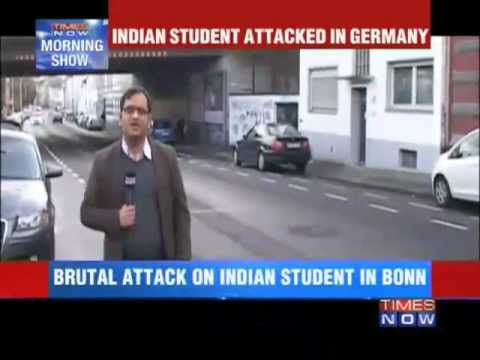 2012-12-31 Indian student attacked in Bonn, Germany - TimesNow.tv