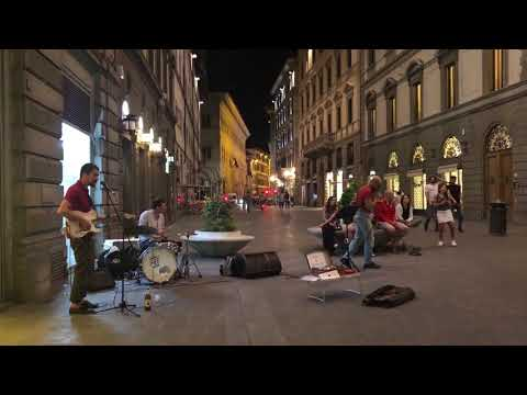 Street Music in Florence, Italy