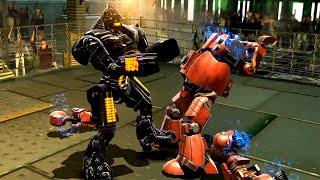 REAL STEEL WRB Noisy Boy VS Fat Boy & Hollowjack & Bio War & Danger ZOne