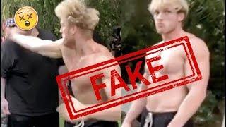 Logan Paul Slapping A Slap Champion *FAKE*