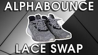 Adidas AlphaBounce Lace Swap - LaceLab