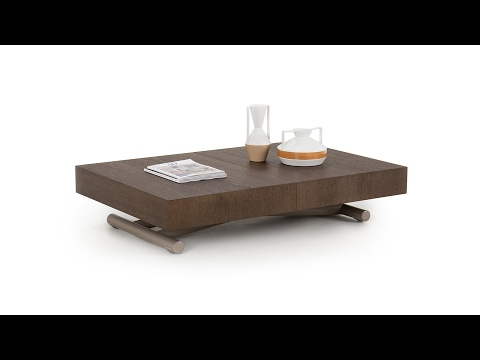 Lucas bespoke transforming coffee table