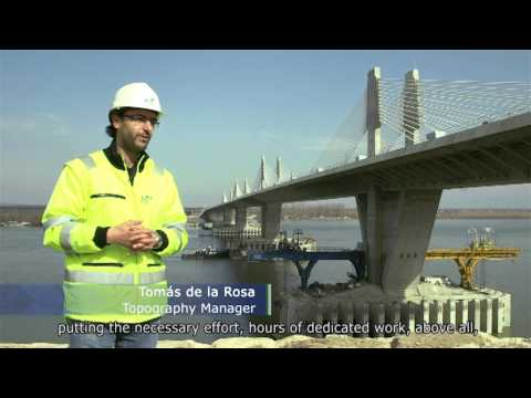 FCC`s teamwork in the Danube Vidin-Calafat`s bridge