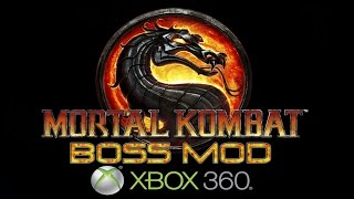 MORTAL KOMBAT 9 ON XBOX360 PLAY AS shao kahn goro kintaro