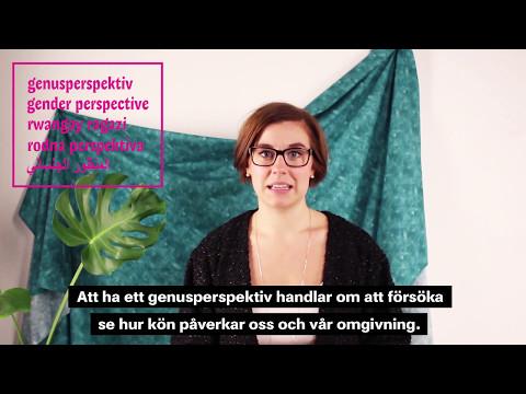 VIKTIGA SAKER: Kön & Genus