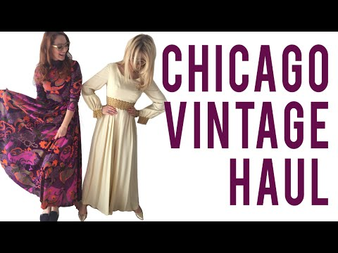 Chicago Thrifting Haul (Vintage Fashion)