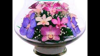 видео Цветы в стекле: купить в Москве букет в вакууме