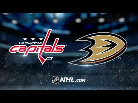 Gibson, Ducks blank Capitals at home, 4-0