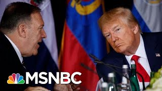 Mike Pompeo Subpoenaed For Ukraine Docks By 3 House Committees  Deadline  MSNBC