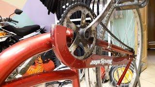 ремонт и улучшение каретки вело замена на картридж с промышленными подшипниками велосипед