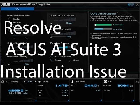 How To Resolve ASUS AI Suite 3 Installation Issue