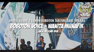 lagu ska dangdut 🎤 Bobotoh voice - wanita munafik 🎵 #bts