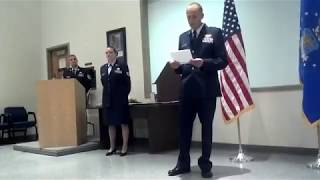 My Air Force Retirement -- 31 July 2012 -- Nellis AFB