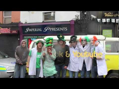 The Fuzzy Burgers On Paddys Day In Cavan Town 2013