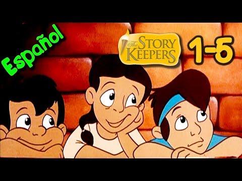 Los Guarda Historias - Todos los 5 capítulos - Dibujos animados educativos