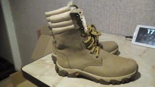 Видео обзор пары Берц военных кожаных из Хмельницкая за 670 грн