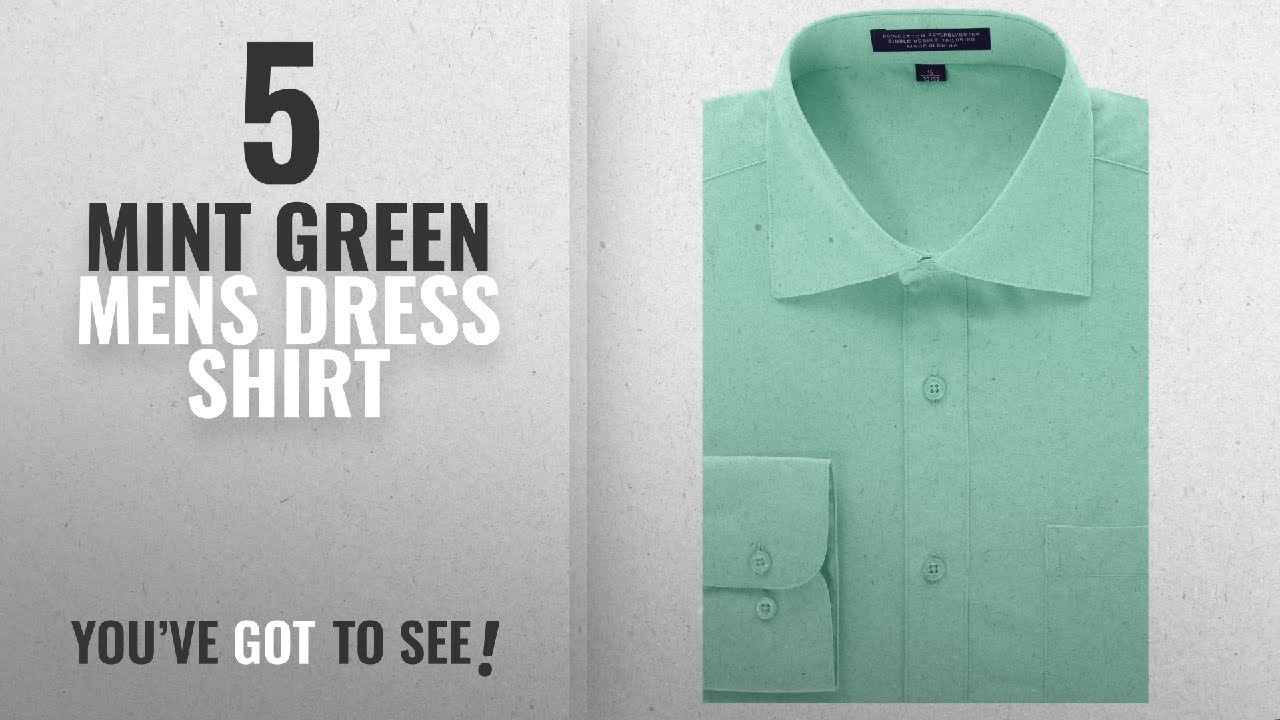 Top 10 Mint Green Mens Dress Shirt Winter 2018 Mondaysuit Mens