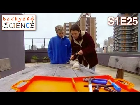 Backyard Science | S1E25 | Blowing Up Balloons with a Bike Pump