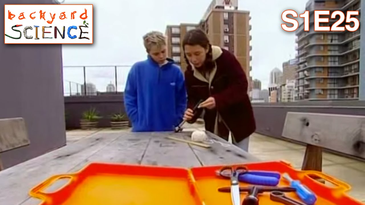 Backyard Science Games backyard science | s1e25 | blowing up balloons with a bike pump