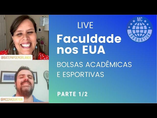 Faculdade nos EUA: Mauricio Cabrini (MC Graduation) e Luciana (Batepapoemorlando) parte 1/2