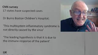 Covid – 19, thursday 14th maypaediatric multisystem inflammatory syndromecases in the us, spain, italy, france, netherlands, but not chinamost of childre...