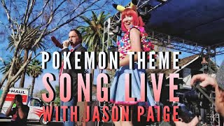 Pokemon Theme Song - Jason Paige feat. Stephanie Yanez at Anime Impulse