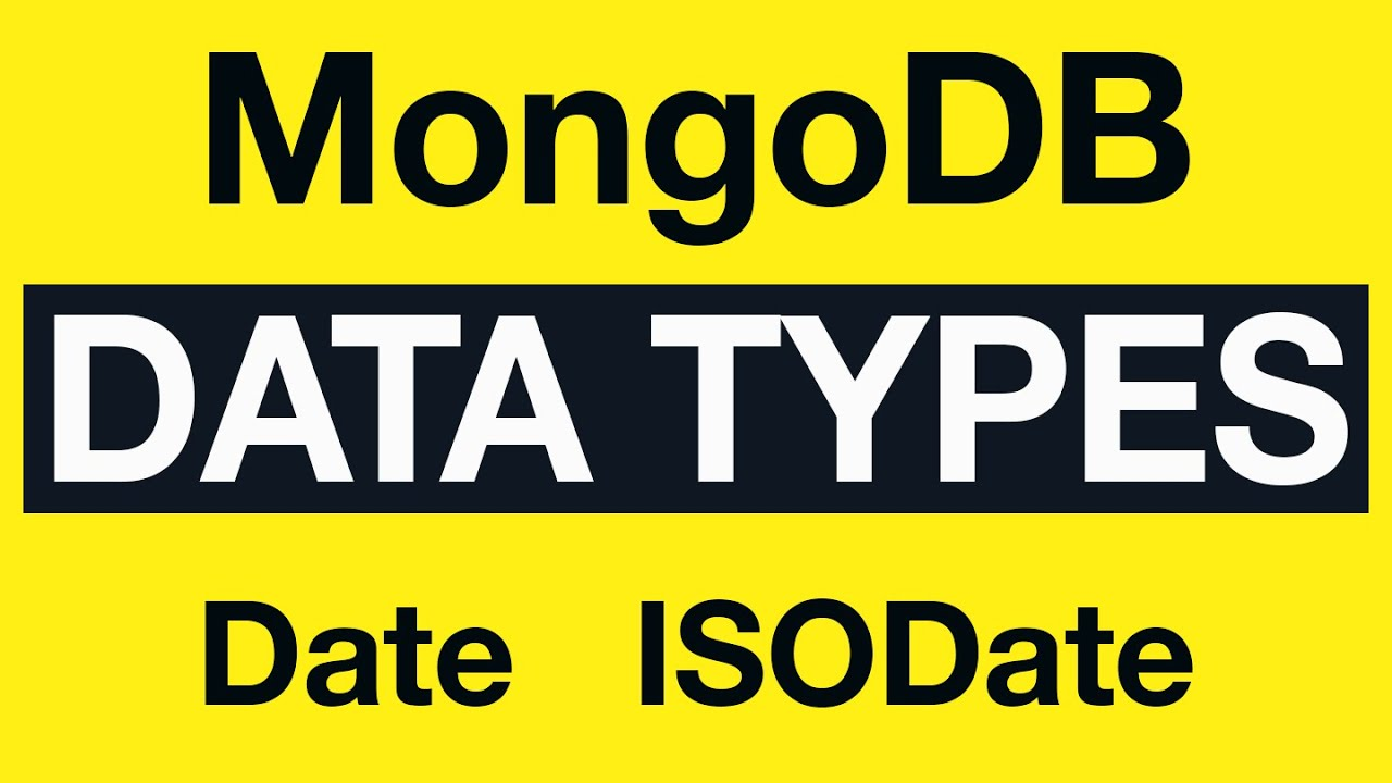 What is Date and ISODate in MongoDB?