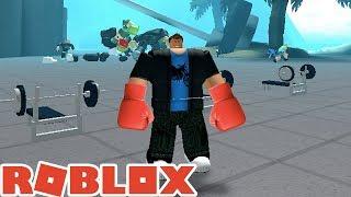 BOXING SIMULATOR! ROBLOX | FAMBAM GAMING | FUNNY GAME!