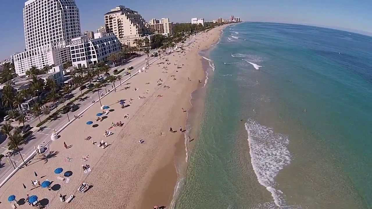 Drone Flying Around Fort Lauderdale Beach - Youtube-3068