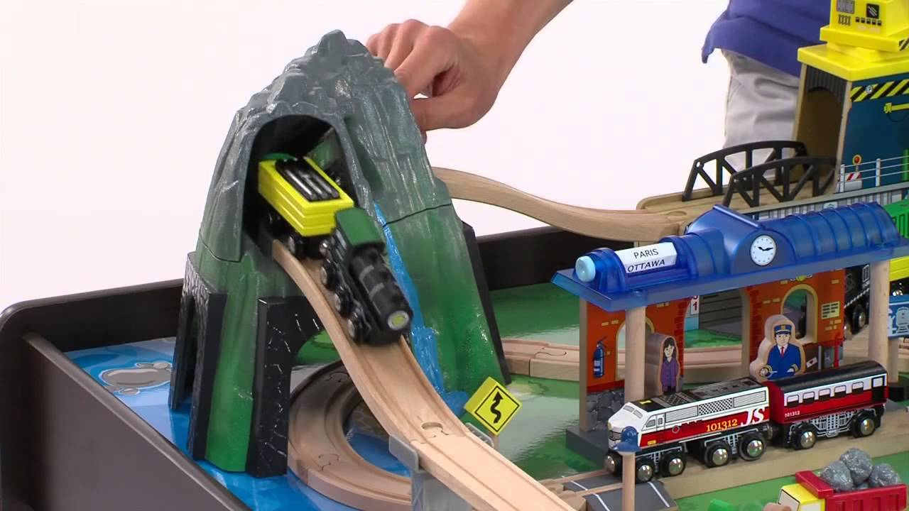 Mountain Rock Train Table at Toys R Us - YouTube