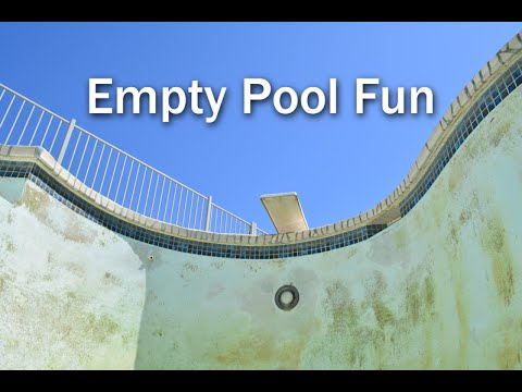 What to do with an empty swimming pool and kids for Empty swimming pool