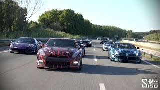 MIAMI TO IBIZA - Gumball 3000 2014 Movie