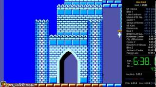Alex Kidd in Miracle World - 13:58 -  speedrun