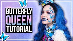 BUTTERFLY QUEEN - Schmetterlingskönigin - Makeup & Kostüm DlY - Effie Trinket Inspired