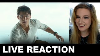 Uncharted Trailer REACTION - Tom Holland Movie 2022