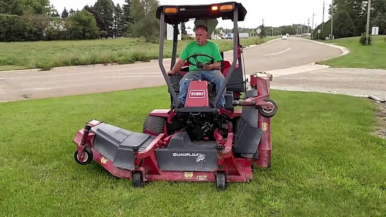 Toro Groundsmaster 455-D Diesel Mow    | Landscaping Surplus | K-BID