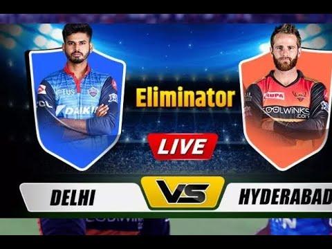 Live Delhi Vs Hyderabad T20   Live Scores And Analysis   IPL 2019 Part - 2