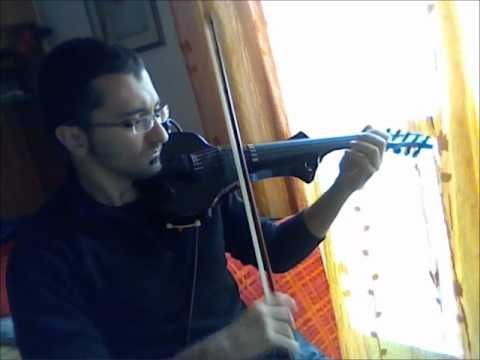 Cantini X-Evon 5 strings electric violin (piano midi sound)