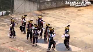 """Santa Rosa de Lima. """"Danza de los Negritos"""" S.S. Betaza 2013."""